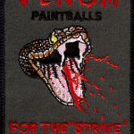 Venom Paintballs Patch